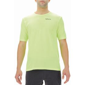 UYN Airstream Shortsleeve Running Shirt Men, giallo
